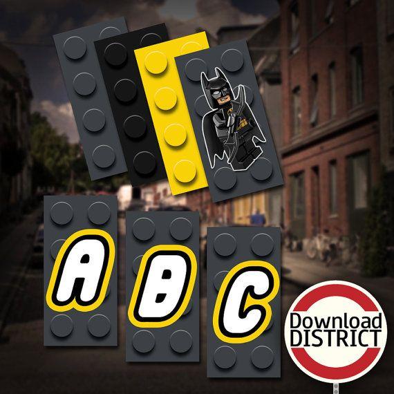 Batman Lego Birthday Party Banner - The LEGO Movie