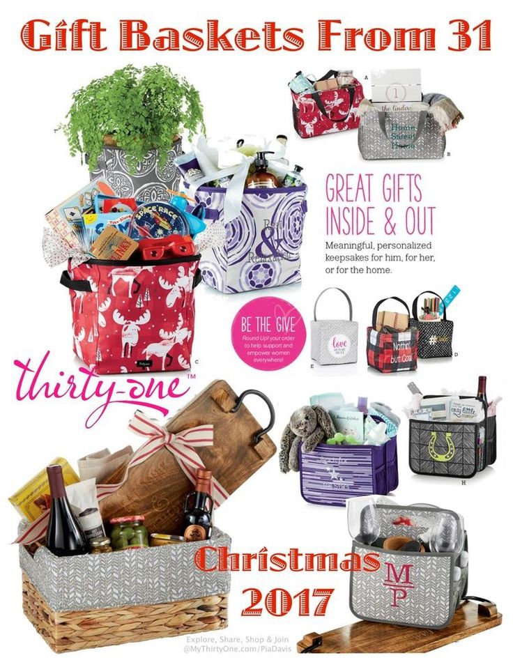 Thirty-One Gift Baskets. Also make great closing/welcome gifts for Realtors! www.mythirtyone.com/HeatherHKemp