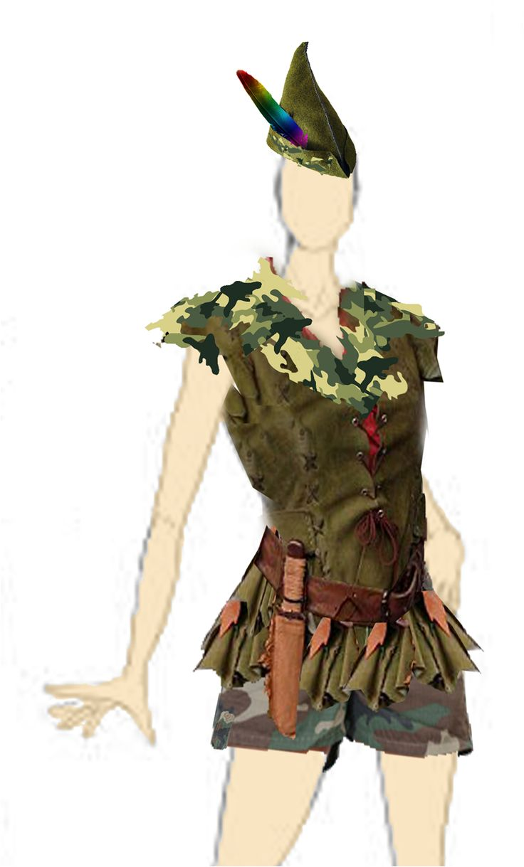 Peter+Pan+Costume+Design..png 816×1,352 pixels