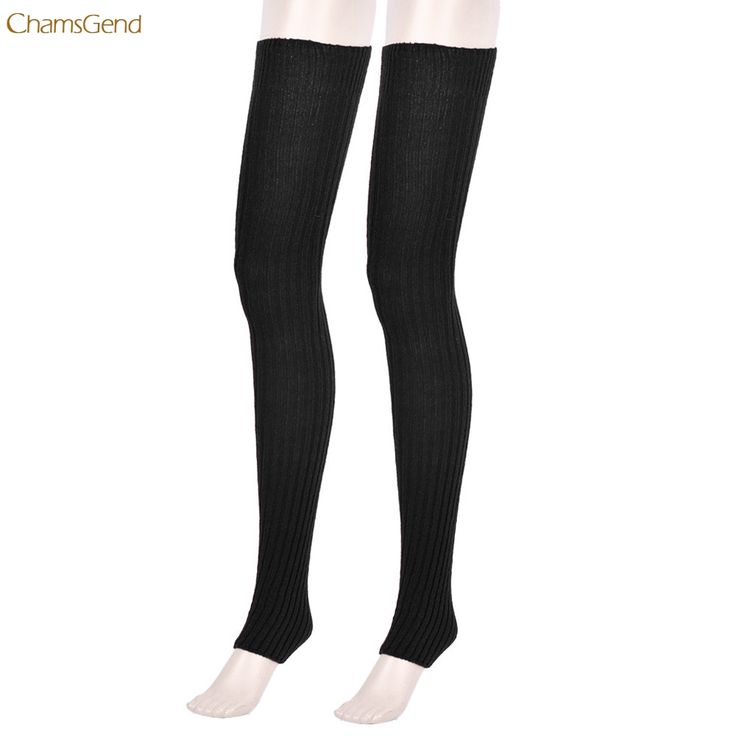 Over Knee Socks Leg Warmers BLACK compression socks women knee high #Affiliate