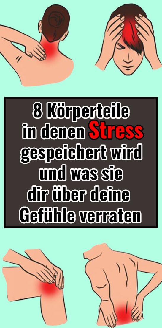 8 Körperteile, in denen Stress gespeichert wird und was sie dir über deine Gefühle verraten – Fraenki R