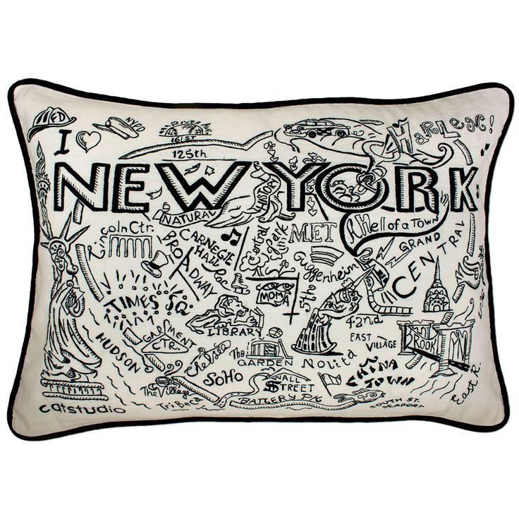 New york city hand guided machine pillow