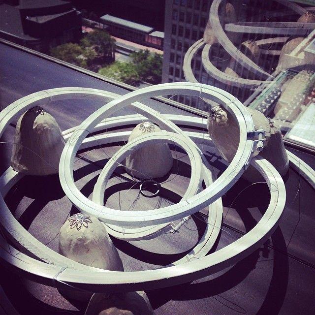 Craft with a view. #birdseyeview http://instagram.com/ideasmagazine