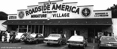 Roadside America building. Shartlesville, Pa
