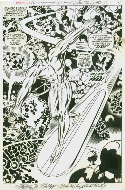 page from fantastic four 76 by jack kirby and joe sinnott