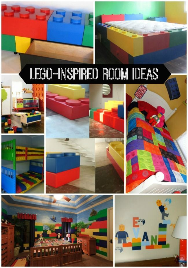 Room 2 Build Bedroom Kids Lego: Kids - Family - Home