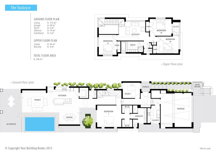 Your Building Broker: The Toulouse Narrow Lot 2 Storey Home