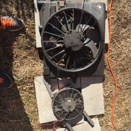 Electric radiator fans (petaluma) $40