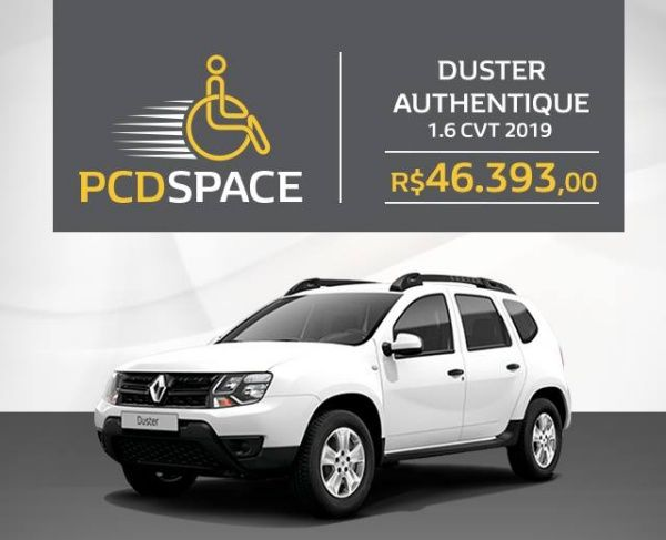 Duster Authentique 1 6 Cvt Pcd 2019 Ficha Tecnica E Fotos