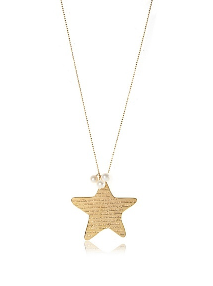 Mercedes Salazar Jewelry Gold Star Pendant