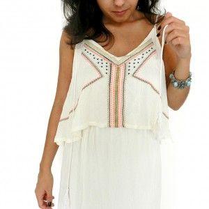 Vestidos   Miupi #miupi #adoromiupi #vestido #branco #bordado #lindo# vestidolongo #conforto