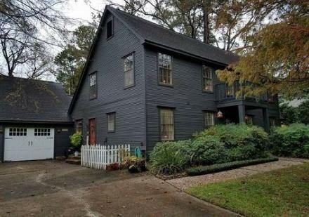 Bestes Haus im Kolonialstil Außenwohnzimmer 54+ Ideen   – Saltbox Houses