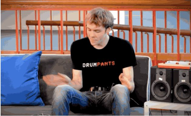 DrumPants 2.0 is open source, still turns your pants into drums
