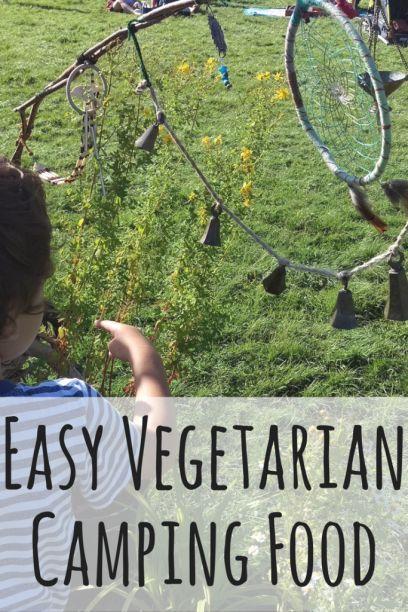 easy vegetarian camping food