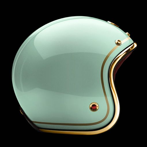 Color | Ateliers Ruby Pavillon Collection Teal Helmet