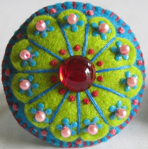 felt craft ideas | Felt Crafts and Ideas / Felt Flower
