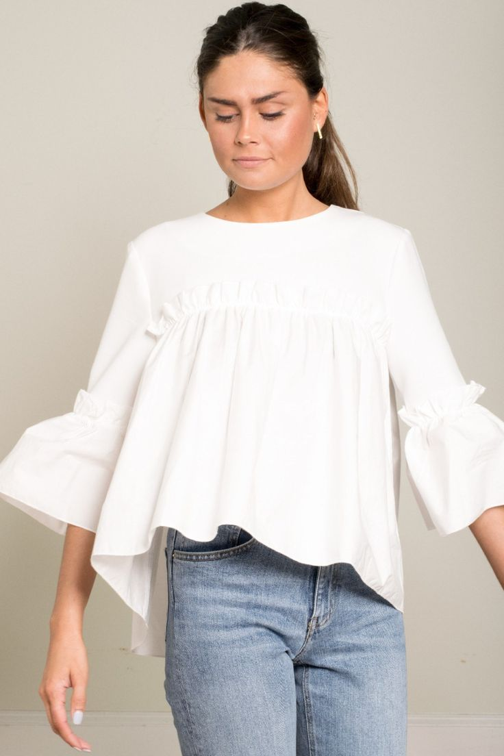 White Hippie Blouse