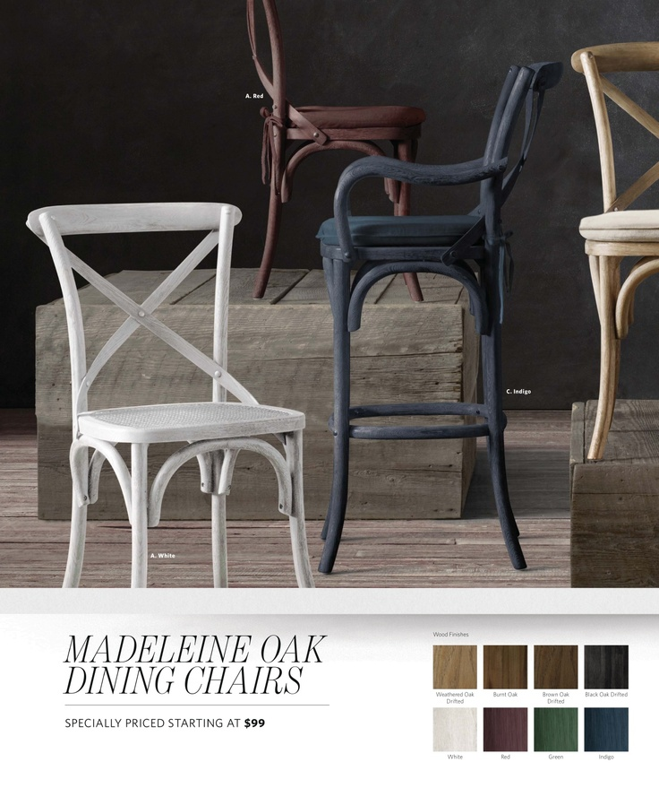 Indigo Stained Dining Chairs House Is Your Home