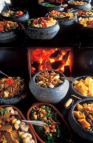 Típica comida mineira - Minas Gerais
