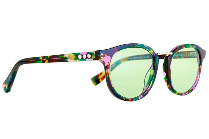 Vredefort Green   Vintage Women's Sunglasses £150 (named after one of the largest meteorites that crashed into earth, causing a 300km crater in South Africa and inducing volcanism, thus the worlds largest known platinum and gold reserves!)