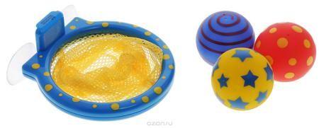 """Alex Toys Игрушка для ванной Мячики в сетке  — 996р. ----------- Игрушка для ванной Alex Toys """"Мячики в сетке"""" - замечательное развлечение для вашего ребенка во время купания. В наборе: баскетбольная сетка на присосках, 3 разноцветных мячика с веселым рисунком. Сетка легко прикрепляется к стенке с помощью присосок. Игрушки для ванной способствует развитию воображения, цветового восприятия, тактильных ощущений и мелкой моторики рук. Порадуйте своего ребенка таким замечательным подарком!"""