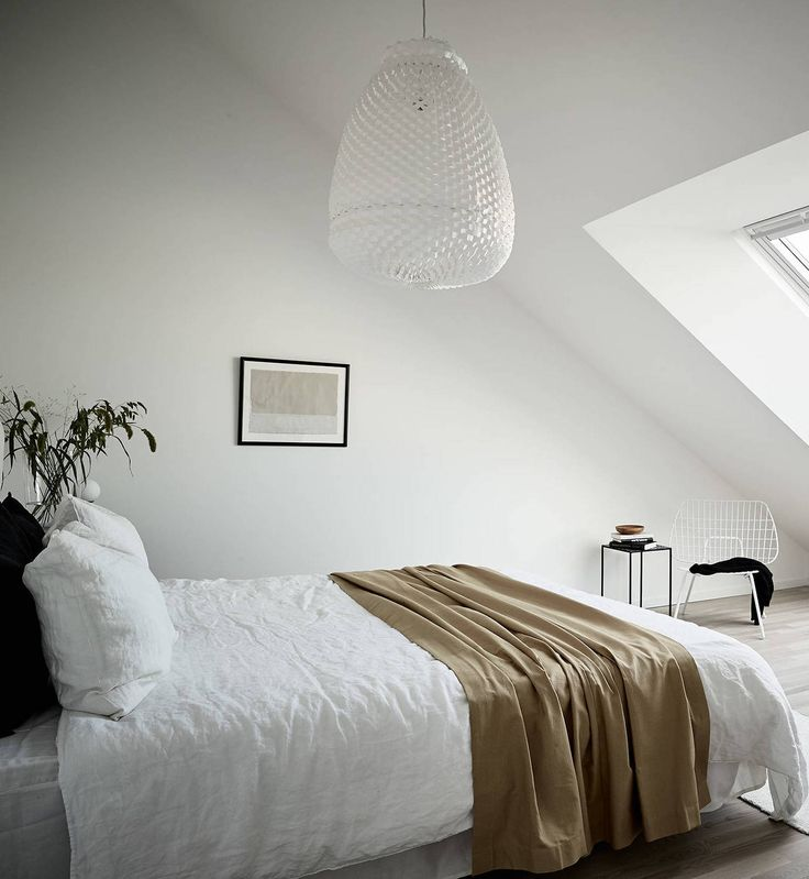 Light flooded attic home - via Coco Lapine Design blog