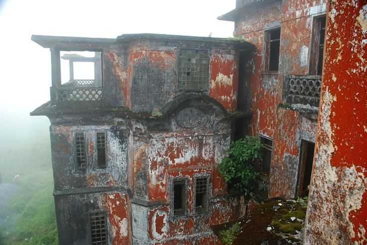 Bokor Hill Station, abandoned mountain town in Cambodia