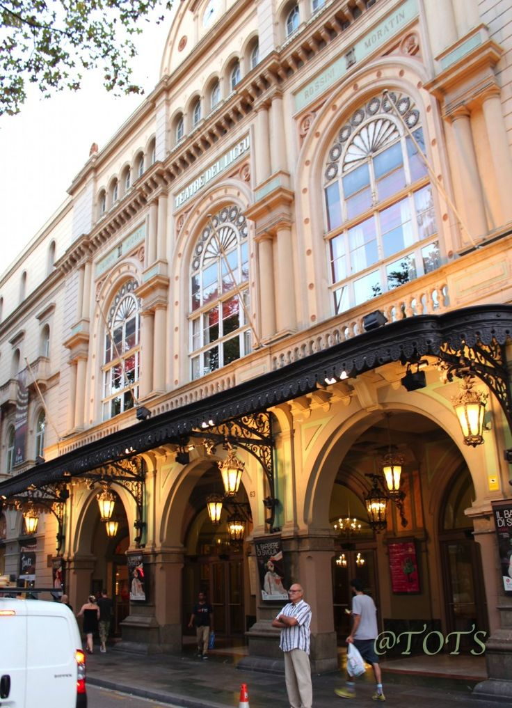 Liceo Opera House and Theatre (Ramblas) Barcelona, Catalonia