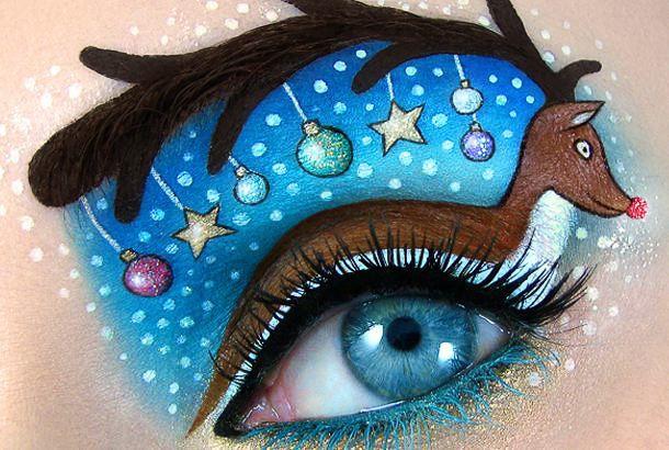 目と眉の間にアート イスライルアーティストのメイクが話題   Fashionsnap.com   Fashionsnap.com