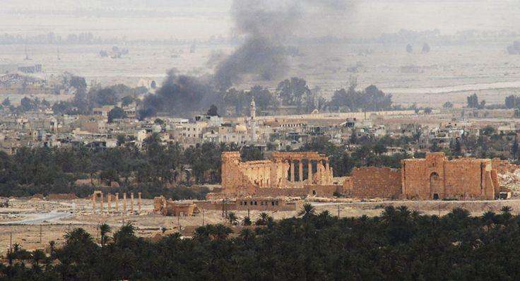 RECHERCHE Palmyre: Daech s'empare d'un champ pétrolier, mais l'armée stoppe son avancée