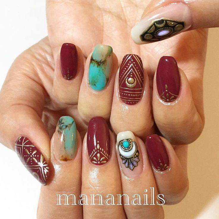 See this Instagram photo by @mananails • 2,145 likes