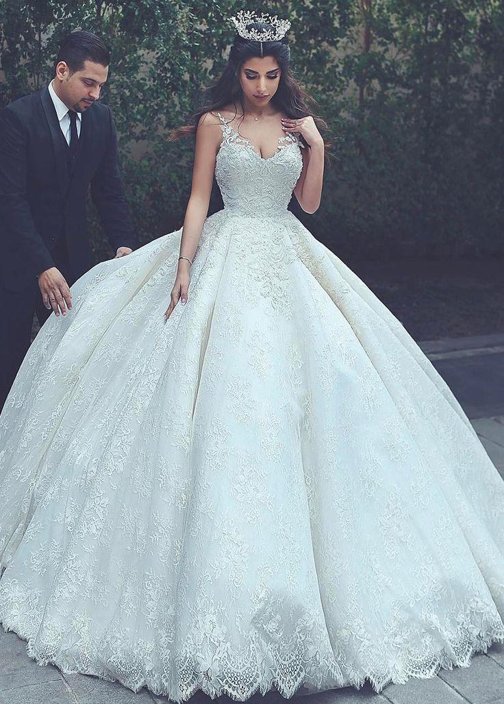 Billiga Glorious Ball Gown Bröllopsklänningar, Brudklänningar