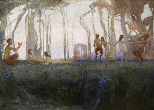 Sydney Long - Pan - 1898.
