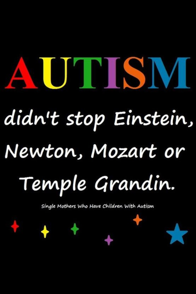 Or me! Or my daughter! #templegrandin #autism autism quote