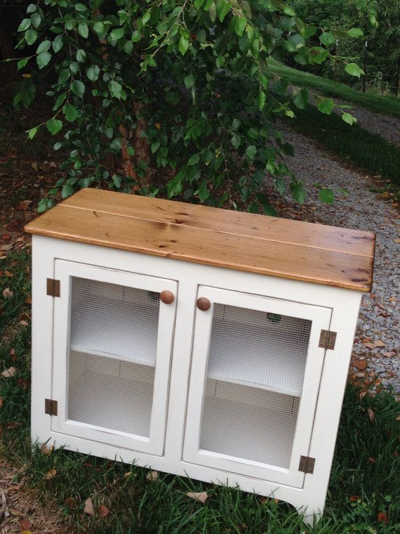 Small TV Stand Media Console Small Media Cabinet by KKFurniture