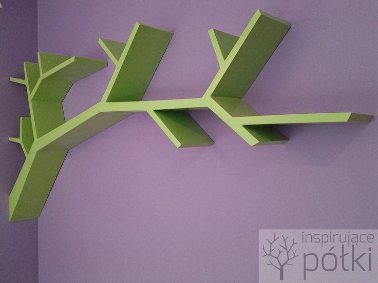 Półka gałąź / branch 170x90x16cm