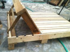 Great reclining adjustable furniture made from pallets