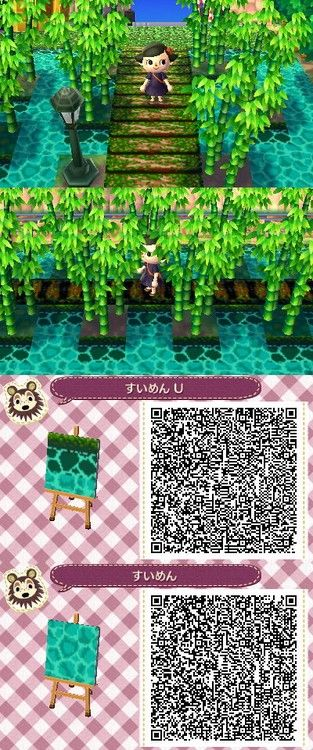 Water Path Animal Crossing New Leaf Qr Code