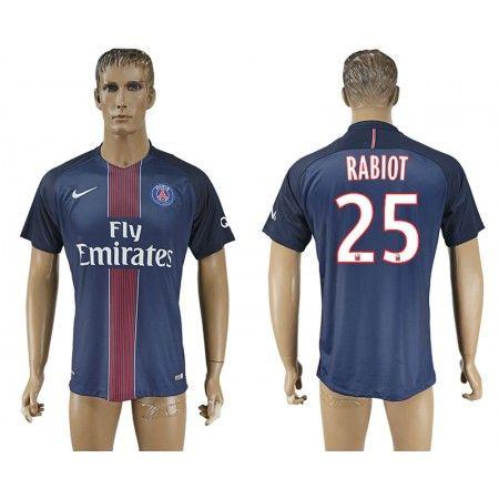 PSG 16-17 #Rabiot 25 Hemmatröja Kortärmad,259,28KR,shirtshopservice@gmail.com