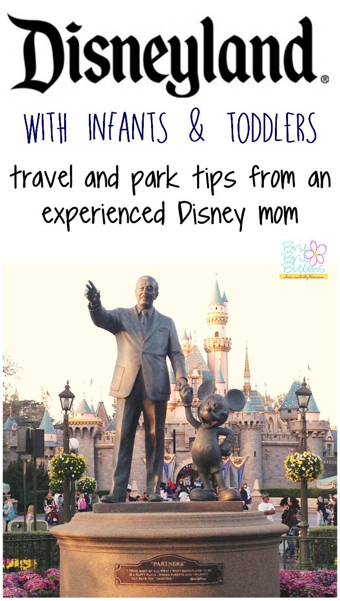 Don't visit Disneyland with children before reading this awesome list of tips to Disneyland with infants and toddlers! Great Disneyland travel and park tips from an experienced Disney mom!
