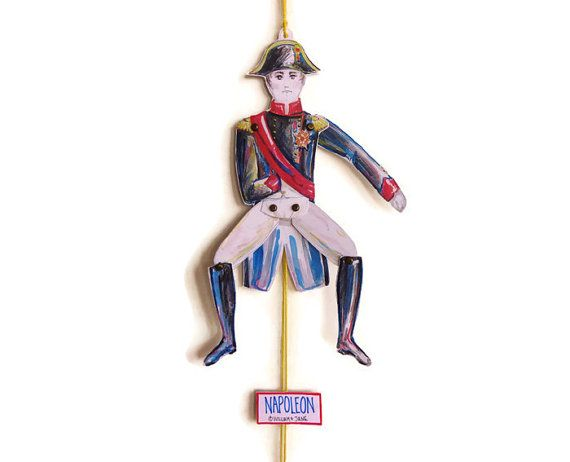 Emperor Napoleon Bonaparte Jumping Jack by WilliamAndJaneDesign