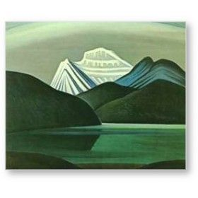 Mountains and Lake by Lawren Harris
