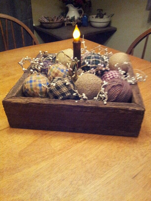 You want to make rag balls cheap and easy,buy styrofoam balls in the dollar store,wrap your material strips around,don't need alot of material to cover the ball,get different size of balls,hot glue the end to keep in place.I have done star ones and these ones.Great accent decorations.