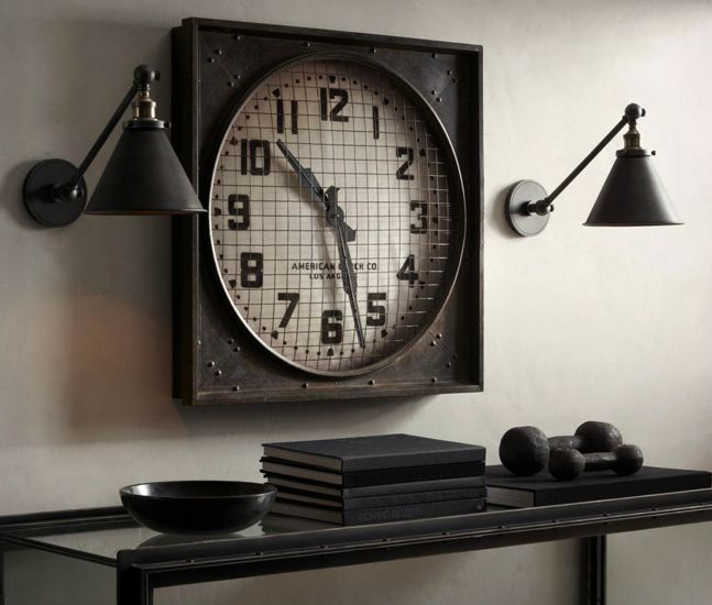 1940s Gymnasium Clock http://coolmaterial.com/home/1940s-gymnasium-clock/?utm_source=Cool+Material_campaign=ecf82323ad-RSS_EMAIL_CAMPAIGN_DAILY_medium=email_term=0_f248e7d25b-ecf82323ad-296746849