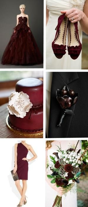 Red is a classic wedding color, but this fall we're falling in love with Oxblood Red! Click the image to read our new blog post for inspiring, romantic ideas. #Mojuba #MojubaWedding