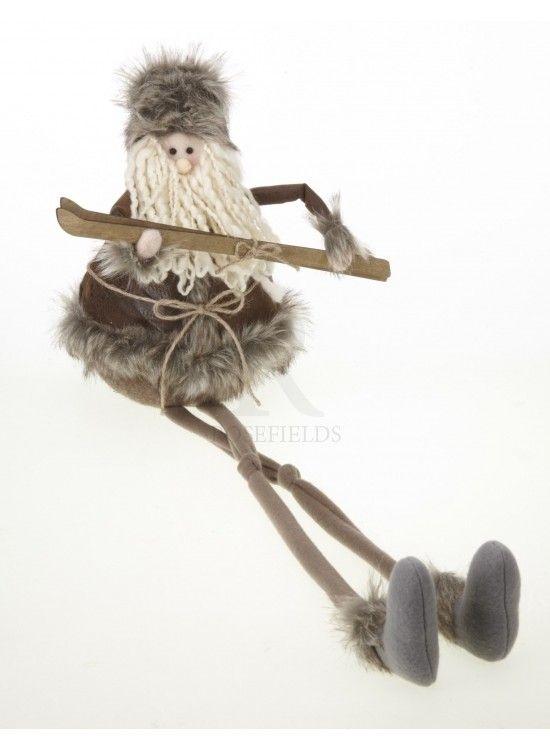 Large Big Beard Santa Dangle Legs @ rosefields.co.uk
