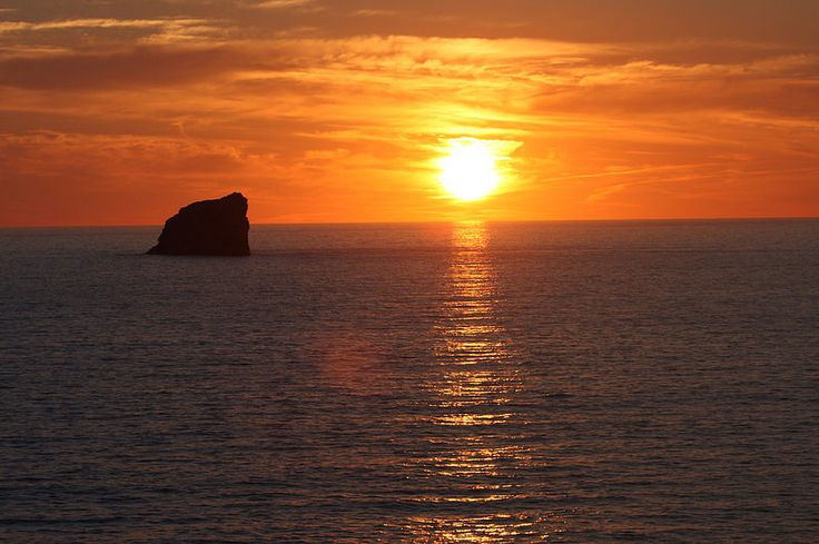 Sunset over St Agnes, Cornwall   by SUPinaBag UK