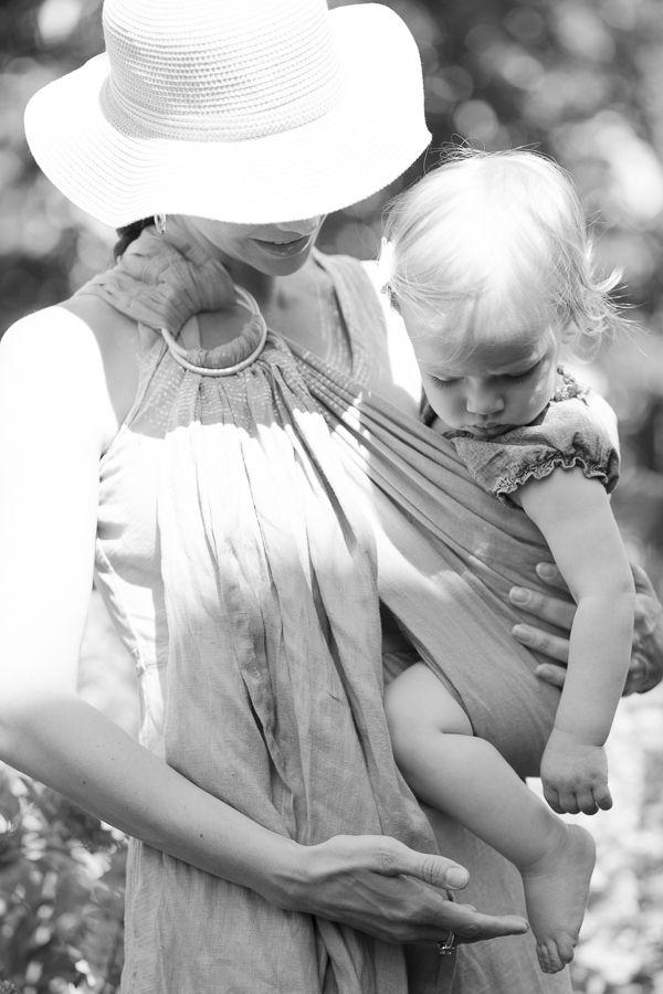Babywearing Portrait by Deanna Berg Creative.