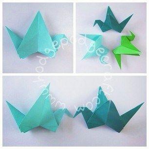 Origami Flapping Bird Tutorial Finishing Up #hodgepodge #craft #origami #animal #animals #love #make #making #paper #do #tutorial #free #easy #quick #kids #children #toddler #preschool #handmade #simple #fold #bird base