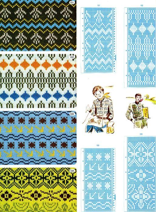 97 best Fair Isle Charts images on Pinterest | Fair isle pattern ...